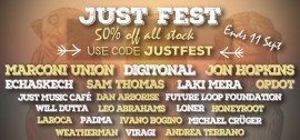 JustFest – Summer Sale | 50% off all stock