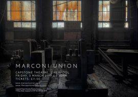 Marconi Union Live | Capstone Theatre, Liverpool