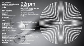Digitonal Live | 22rpm : An All-Day Electronic Music Festival