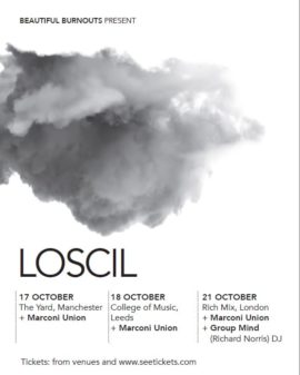 Marconi Union Supporting Loscil Live | October 2019